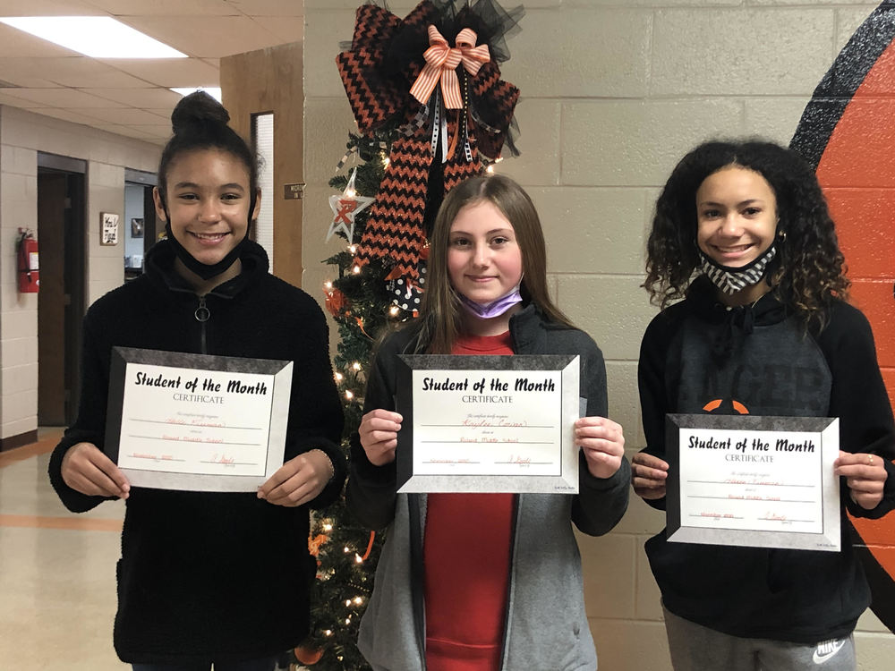 RMS November Students of the Month
