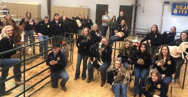 FFA Petting Zoo a Huge Success With the Little Ones