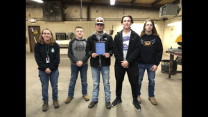 Harvell And FFA Team Places at Wildlife Event