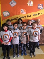 Second and Third Graders earn T-shirts