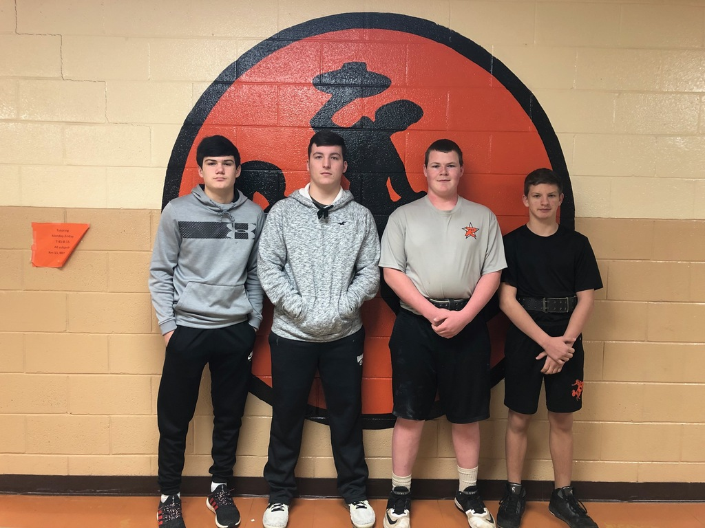 JH boys place at weight meet