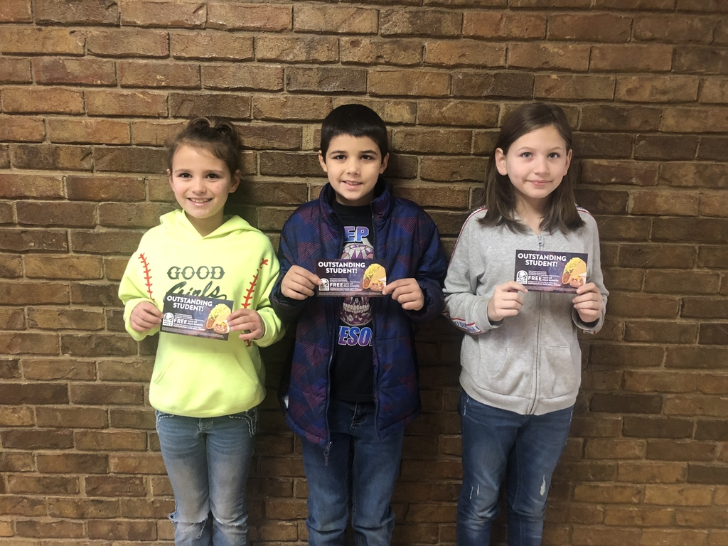 Jan 27th Students of the week